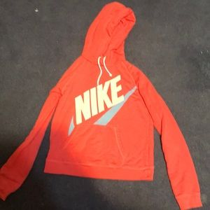Girls hoodie this is pink not sure whylooks orange